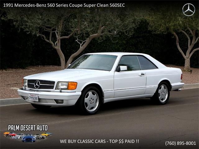 Picture of 1991 Mercedes-Benz 560SEC - $17,490.00 - PFF0