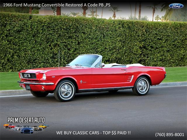 Picture of Classic 1966 Mustang - $33,699.00 - PFF1