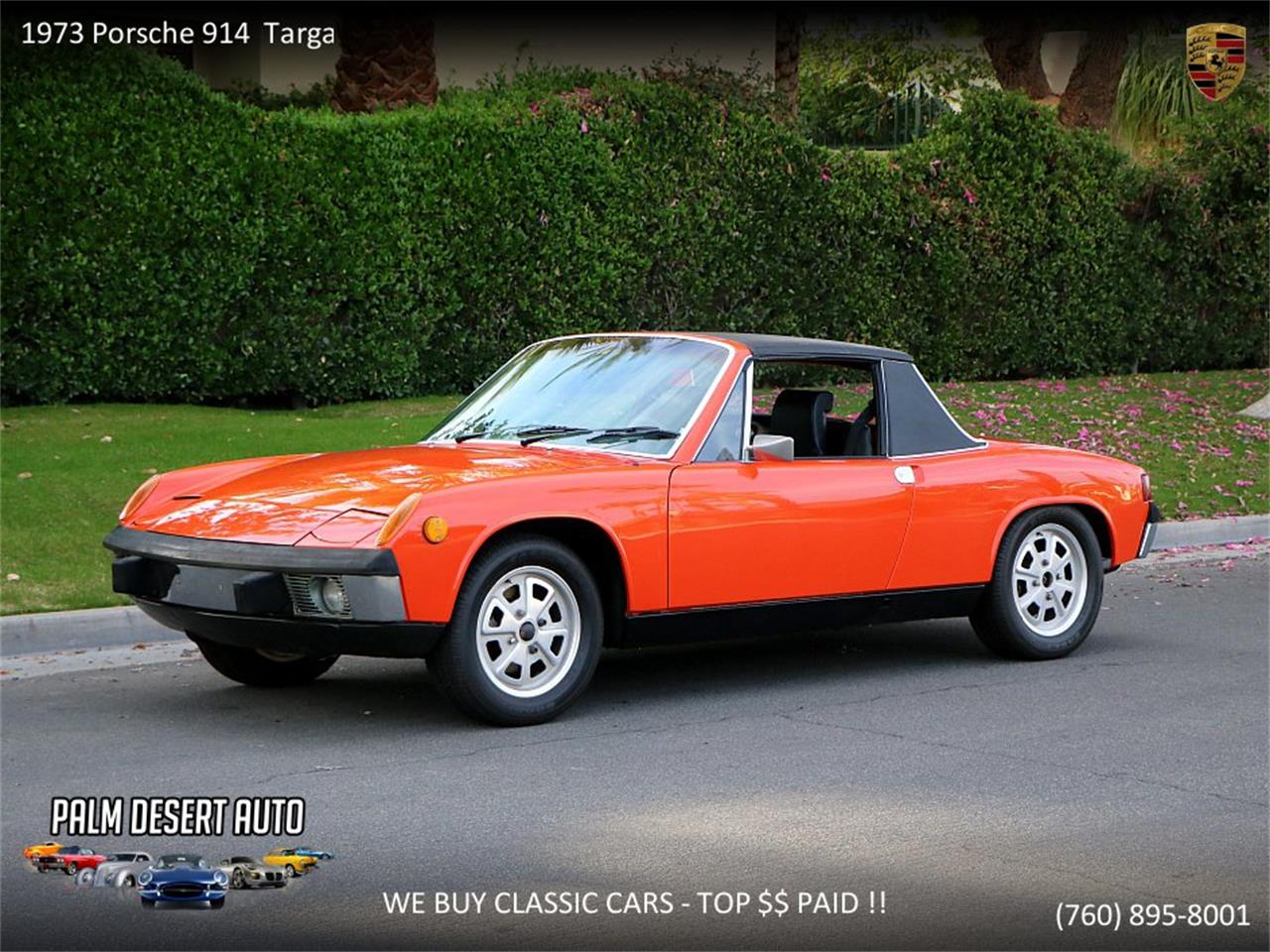 Large Picture of Classic '73 Porsche 914 Offered by Palm Desert Auto - PFF8