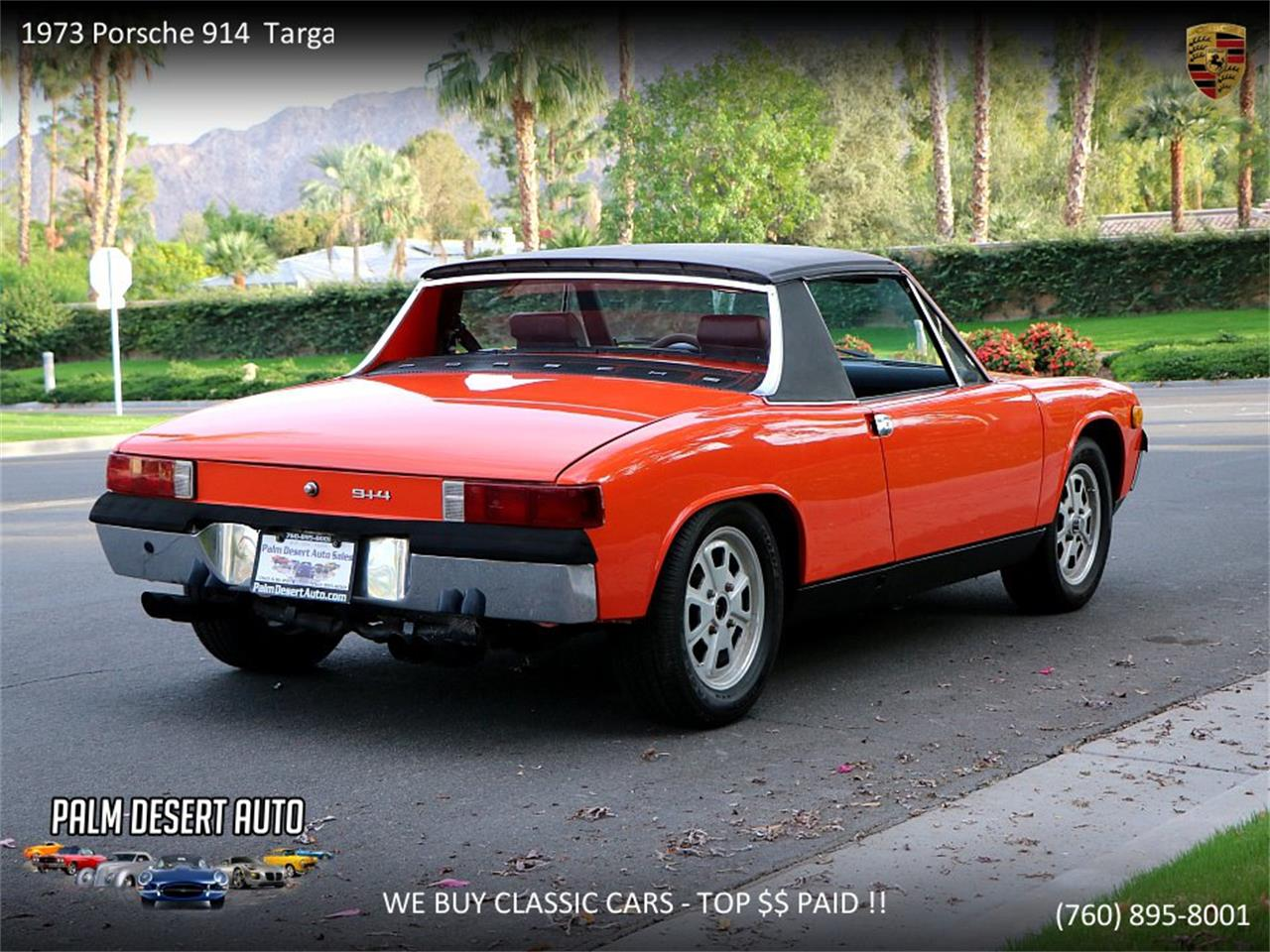 Large Picture of '73 914 located in Palm Desert  California - $17,450.00 Offered by Palm Desert Auto - PFF8