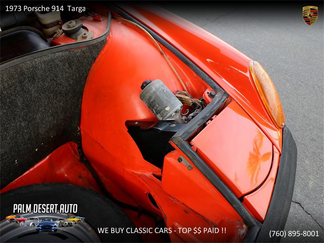 Large Picture of 1973 Porsche 914 located in Palm Desert  California - $17,450.00 Offered by Palm Desert Auto - PFF8