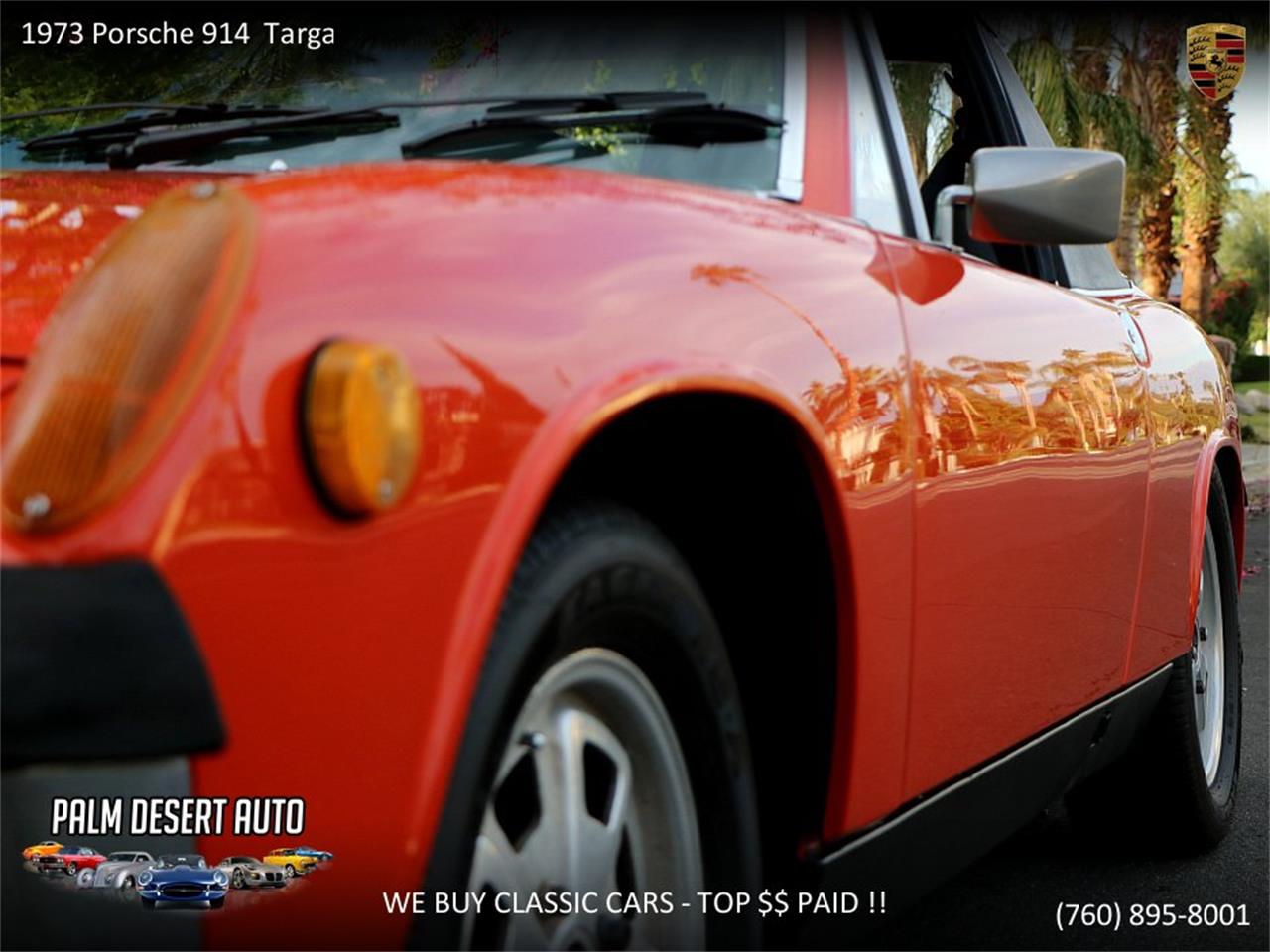 Large Picture of '73 Porsche 914 located in California - $17,450.00 - PFF8