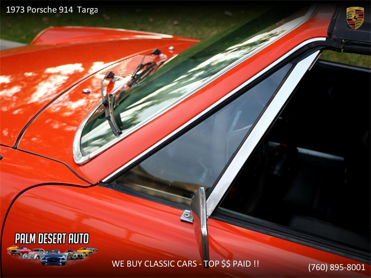 Large Picture of Classic 1973 Porsche 914 located in Palm Desert  California Offered by Palm Desert Auto - PFF8
