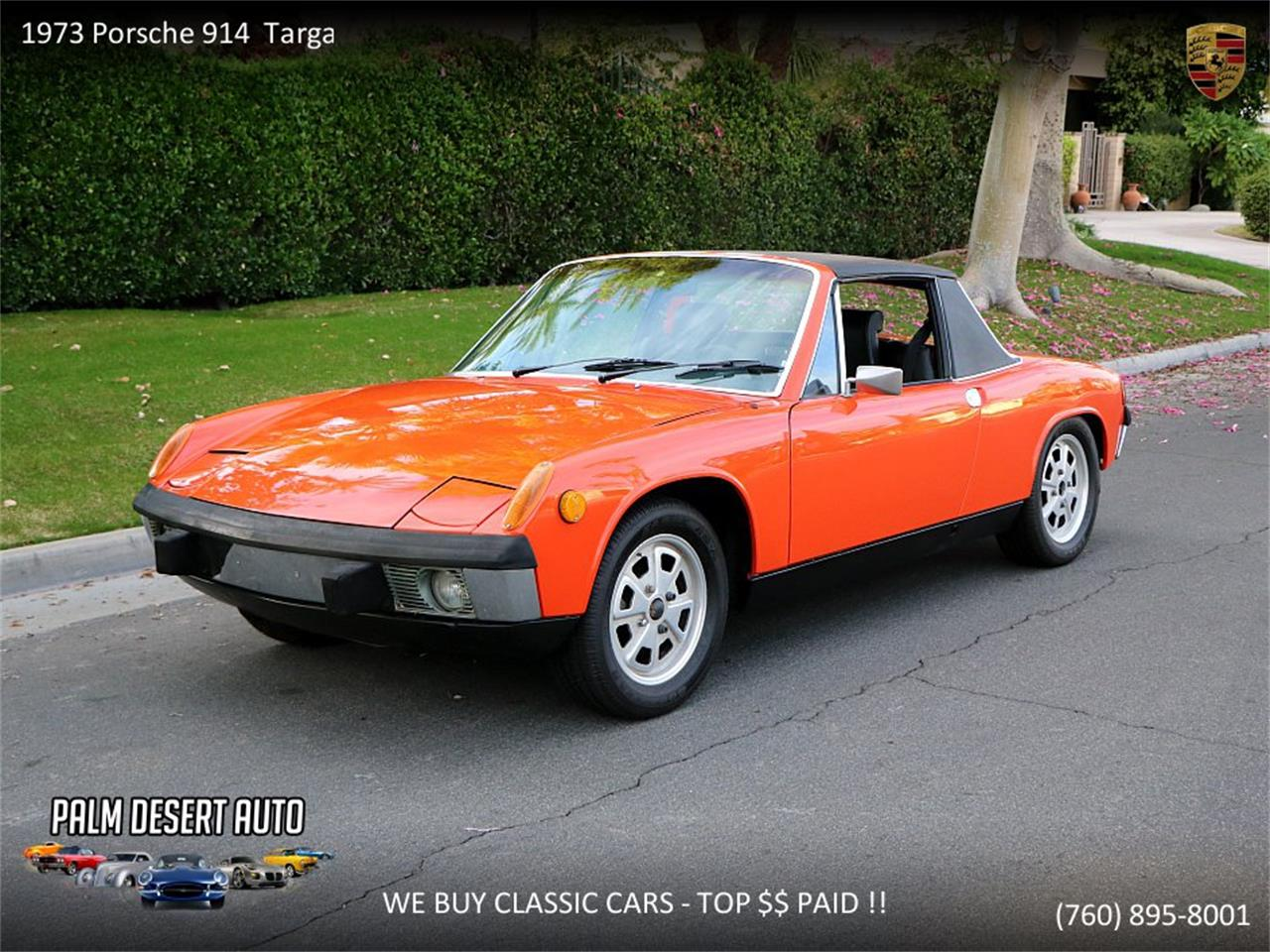 Large Picture of Classic 1973 914 located in California Offered by Palm Desert Auto - PFF8