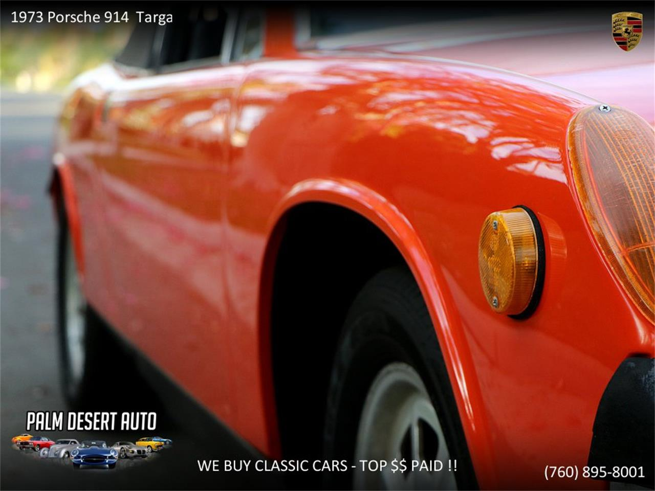 Large Picture of Classic '73 914 located in Palm Desert  California - $17,450.00 Offered by Palm Desert Auto - PFF8