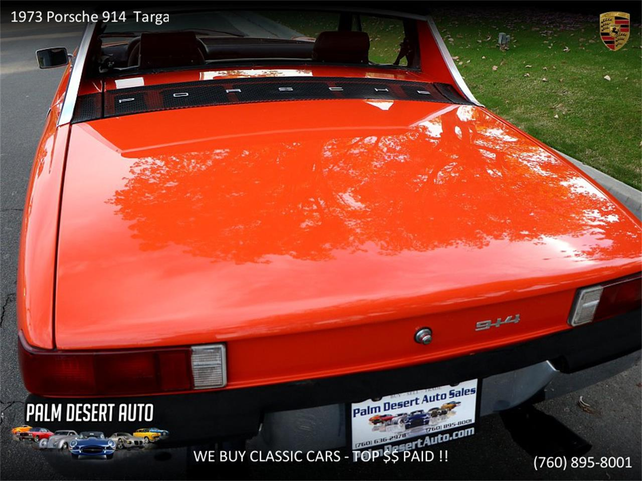 Large Picture of Classic 1973 Porsche 914 - PFF8