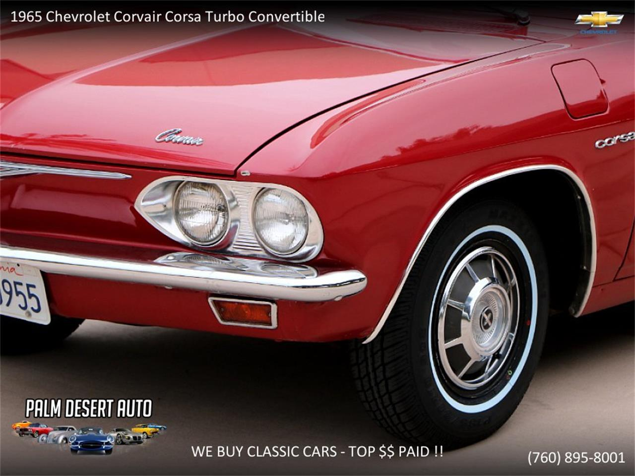 Large Picture of Classic 1965 Corvair located in California Offered by Palm Desert Auto - PFFC