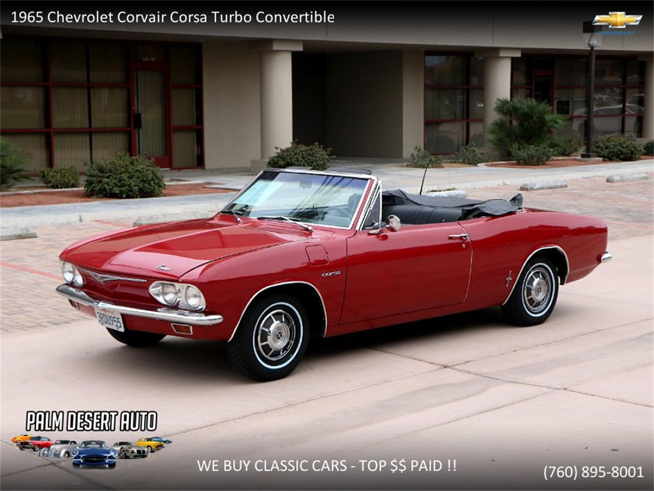 Large Picture of Classic '65 Corvair - $17,750.00 Offered by Palm Desert Auto - PFFC