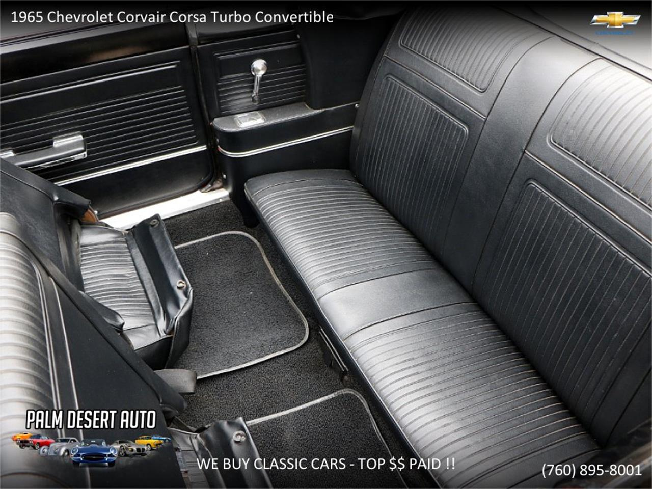 Large Picture of '65 Chevrolet Corvair located in California Offered by Palm Desert Auto - PFFC