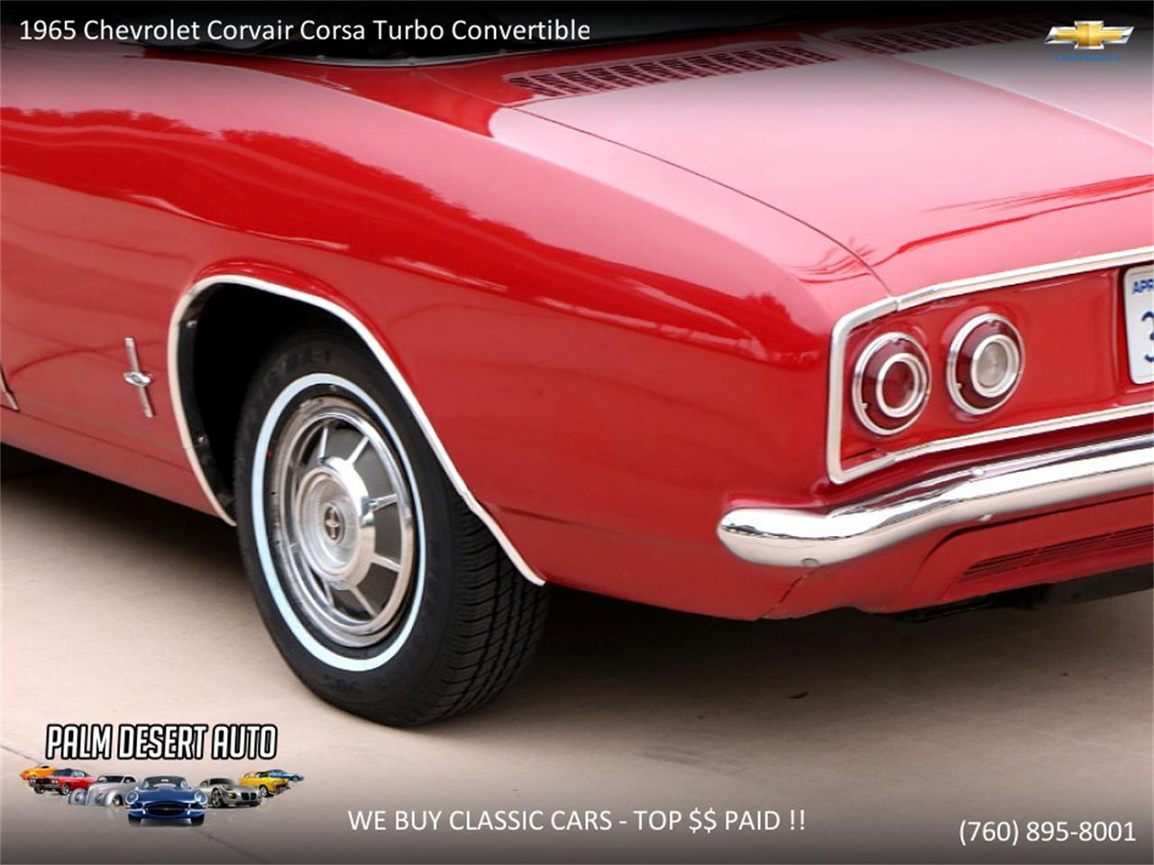 Large Picture of Classic '65 Chevrolet Corvair - $17,750.00 Offered by Palm Desert Auto - PFFC