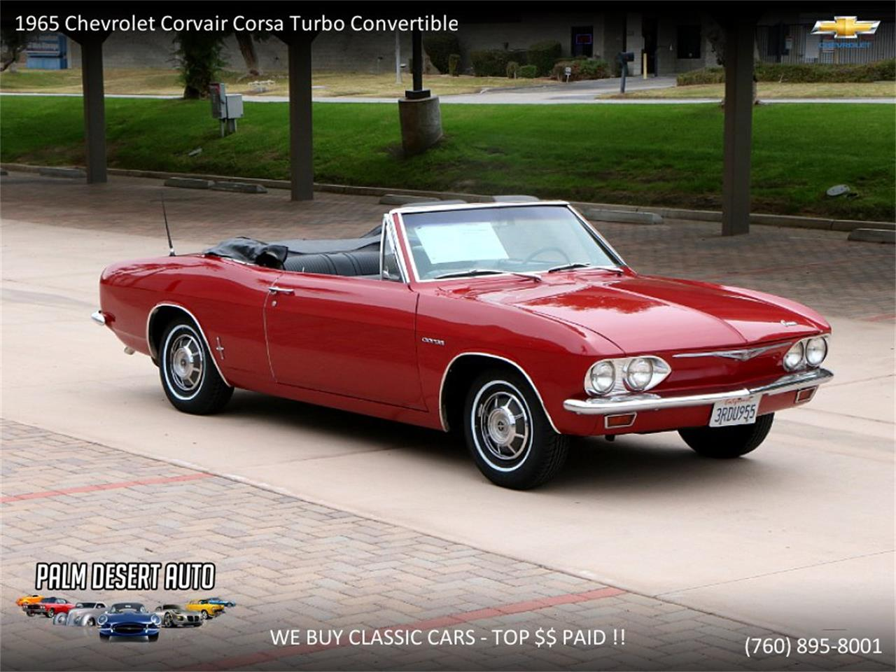 Large Picture of 1965 Corvair Offered by Palm Desert Auto - PFFC