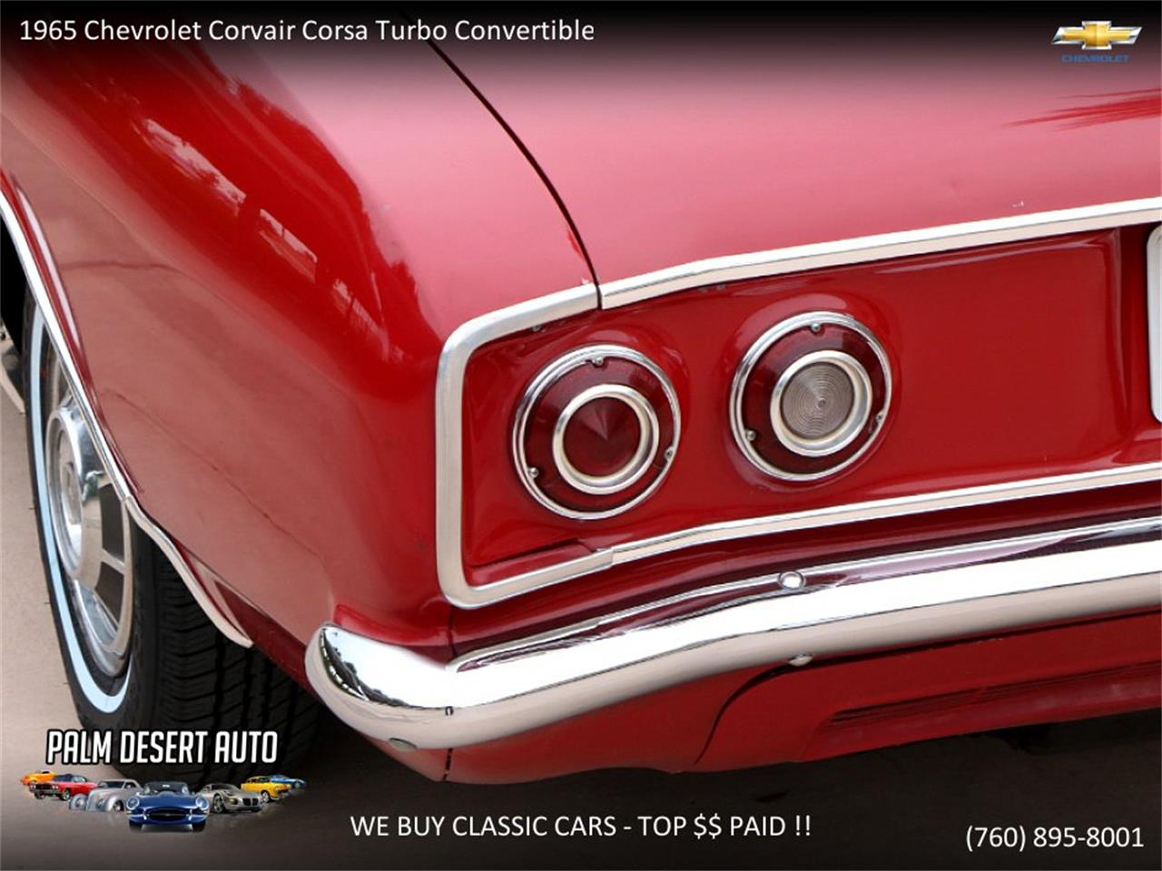 Large Picture of Classic '65 Chevrolet Corvair located in California - $17,750.00 - PFFC