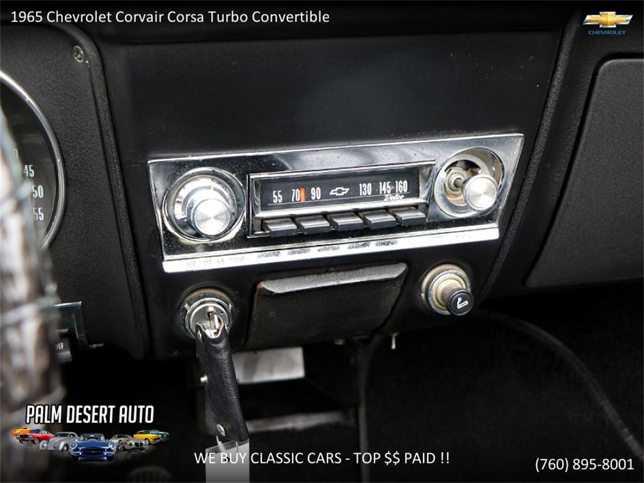 Large Picture of Classic 1965 Chevrolet Corvair located in Palm Desert  California Offered by Palm Desert Auto - PFFC