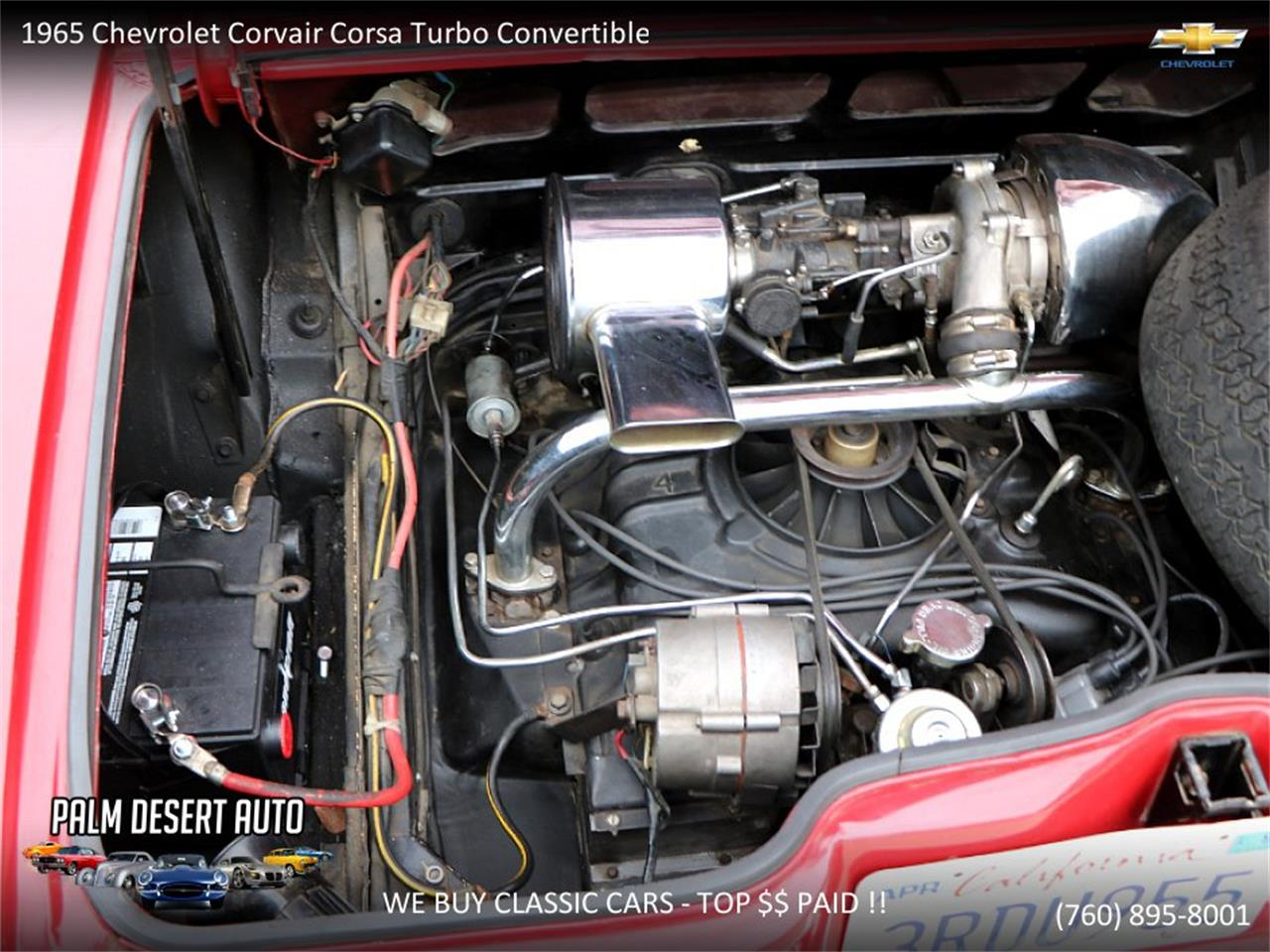 Large Picture of Classic 1965 Chevrolet Corvair located in California - $17,750.00 - PFFC