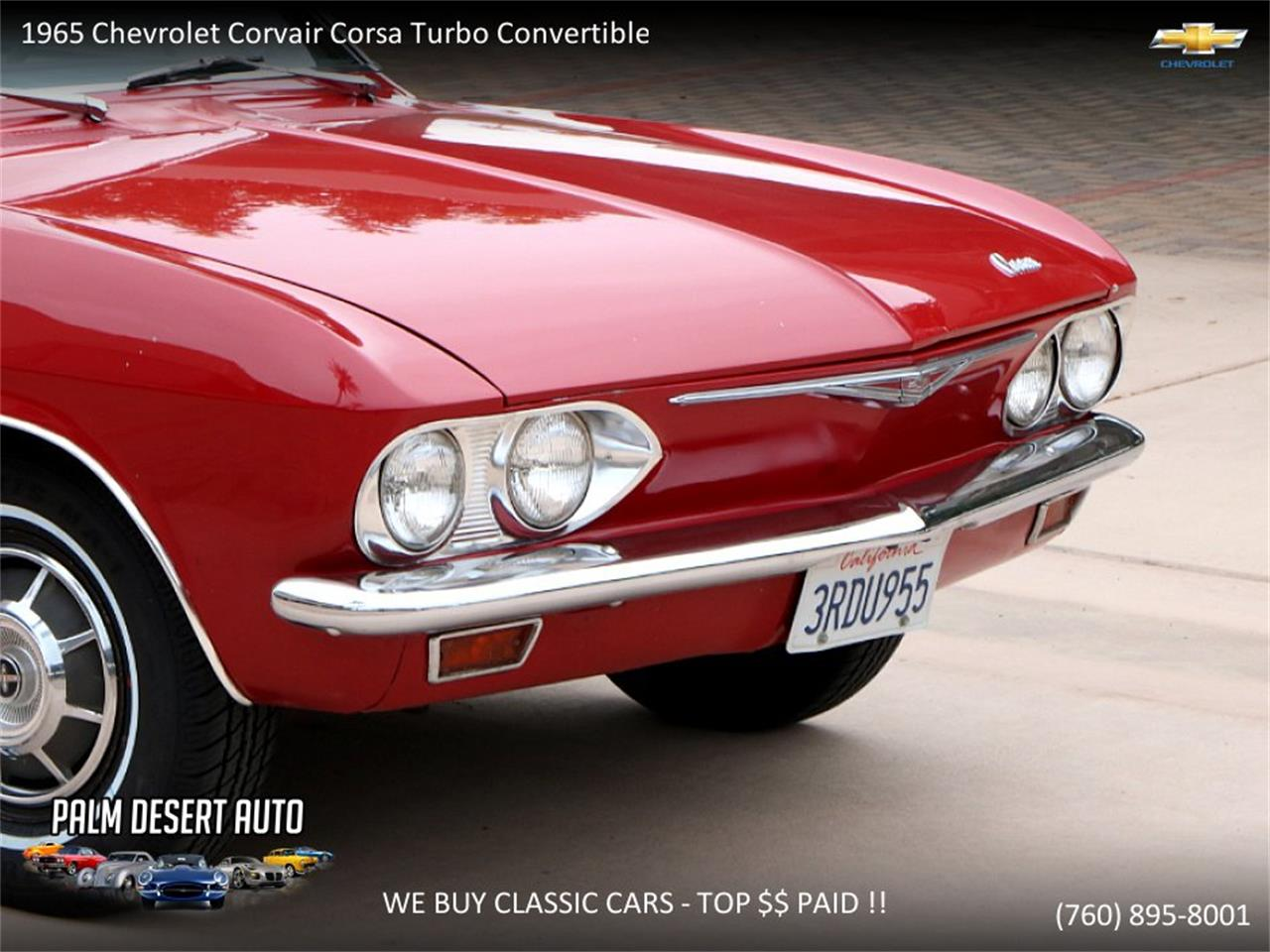 Large Picture of Classic 1965 Corvair located in Palm Desert  California - $17,750.00 - PFFC
