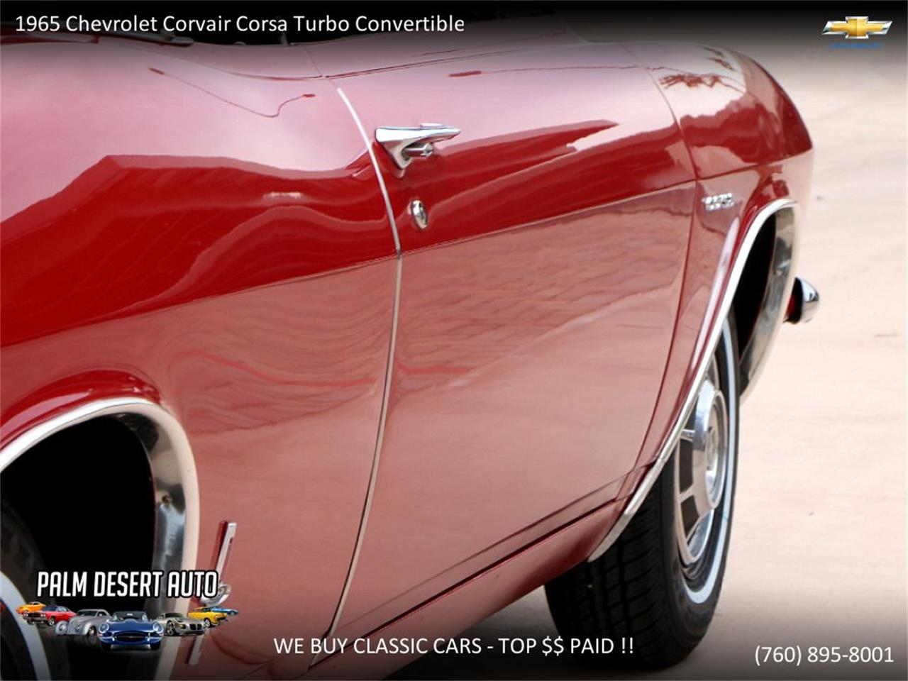 Large Picture of 1965 Chevrolet Corvair - PFFC