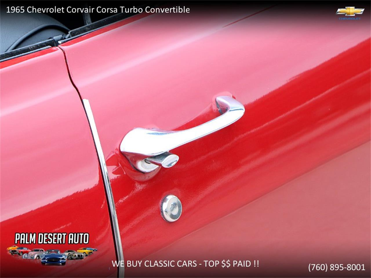 Large Picture of 1965 Chevrolet Corvair located in Palm Desert  California - PFFC
