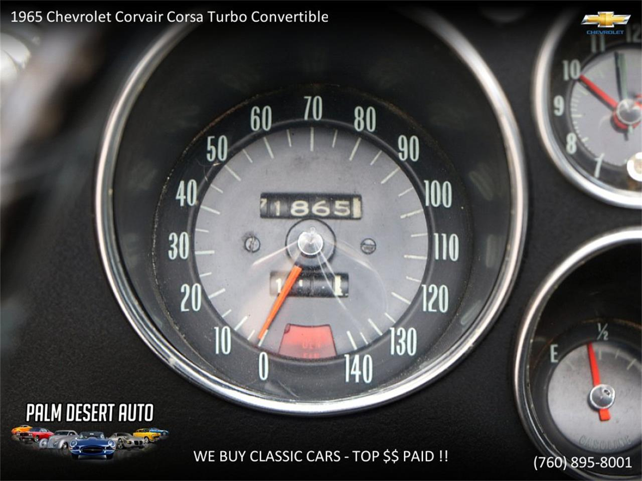 Large Picture of '65 Chevrolet Corvair Offered by Palm Desert Auto - PFFC