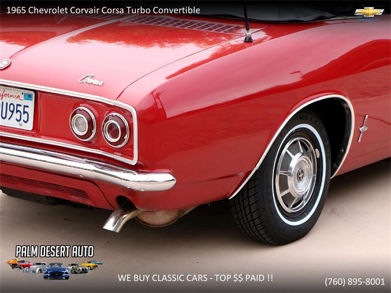 Large Picture of 1965 Corvair located in Palm Desert  California Offered by Palm Desert Auto - PFFC