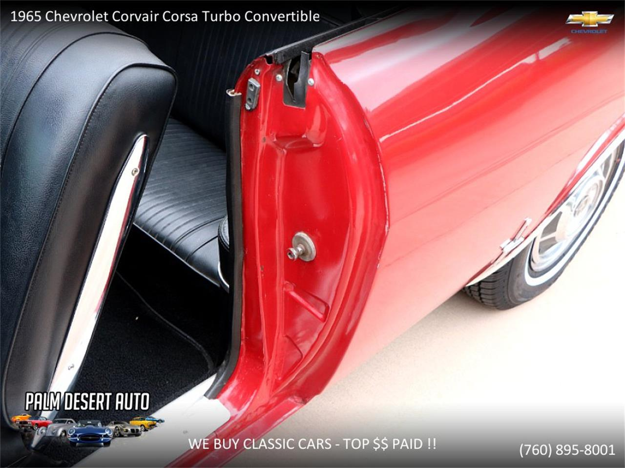 Large Picture of 1965 Corvair located in Palm Desert  California - PFFC