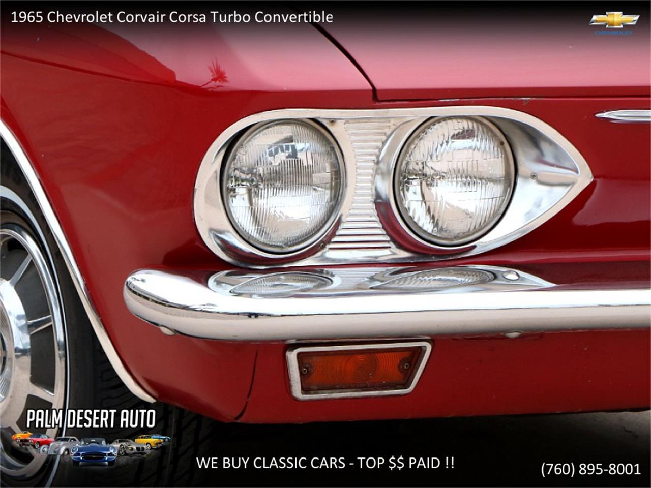Large Picture of 1965 Chevrolet Corvair located in California - $17,750.00 - PFFC