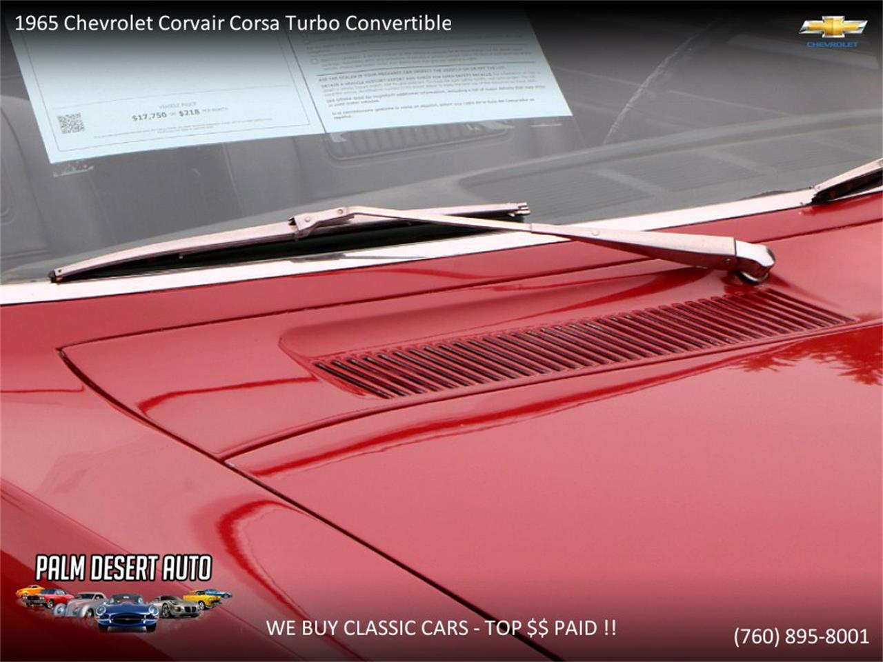 Large Picture of '65 Chevrolet Corvair - PFFC