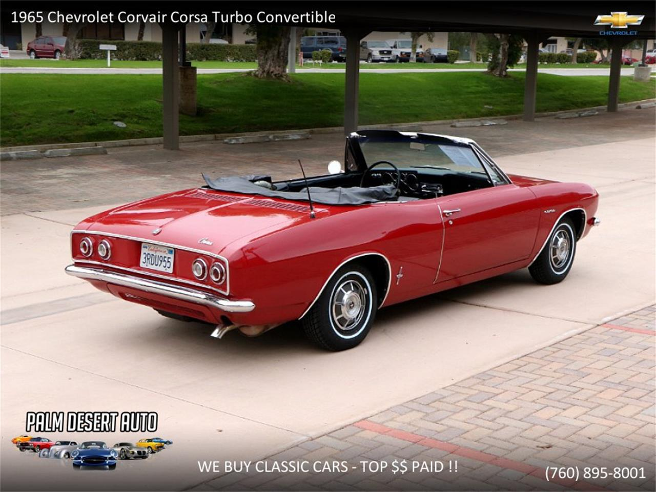 Large Picture of Classic 1965 Chevrolet Corvair - $17,750.00 - PFFC