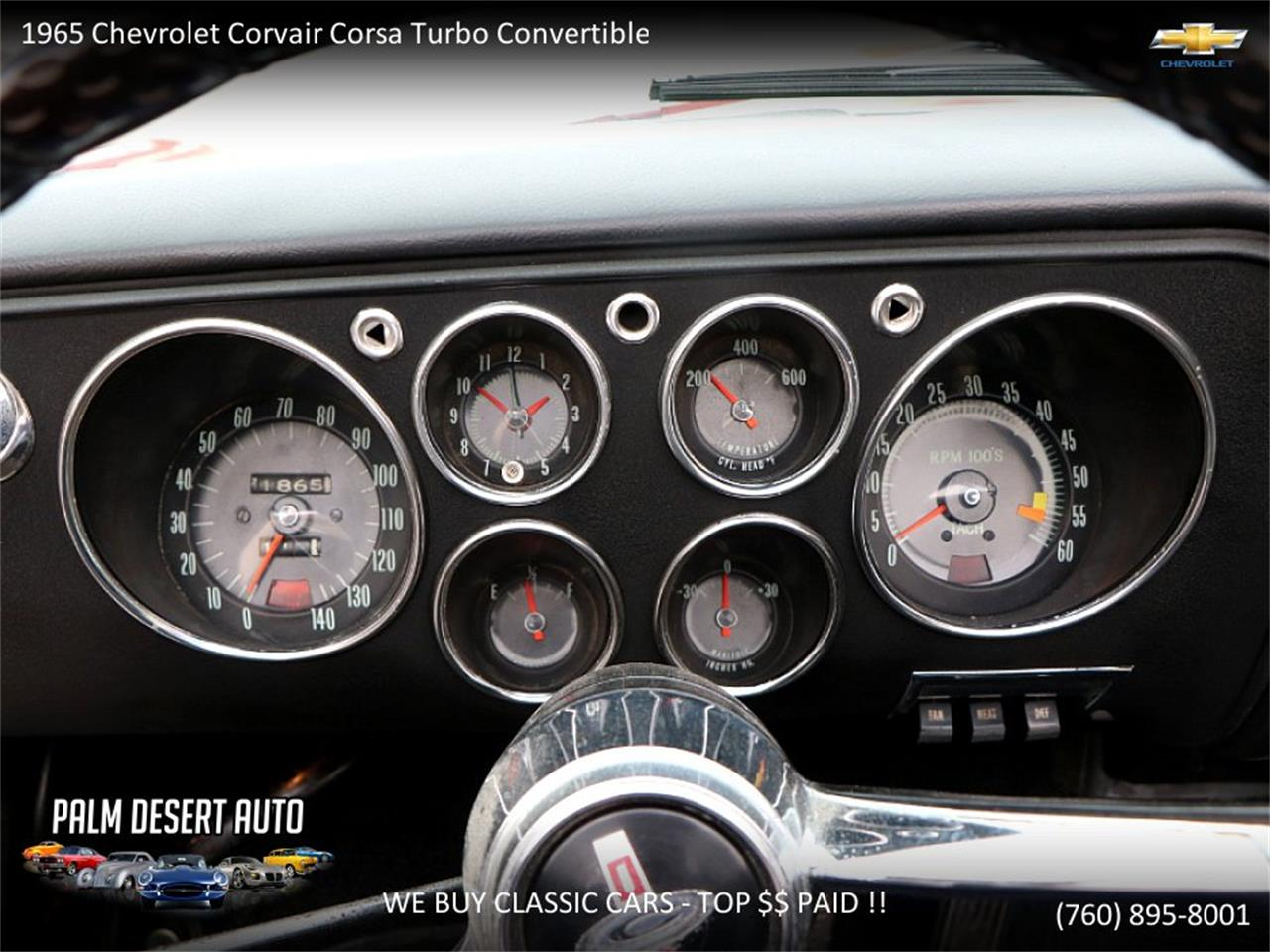 Large Picture of '65 Chevrolet Corvair - $17,750.00 - PFFC