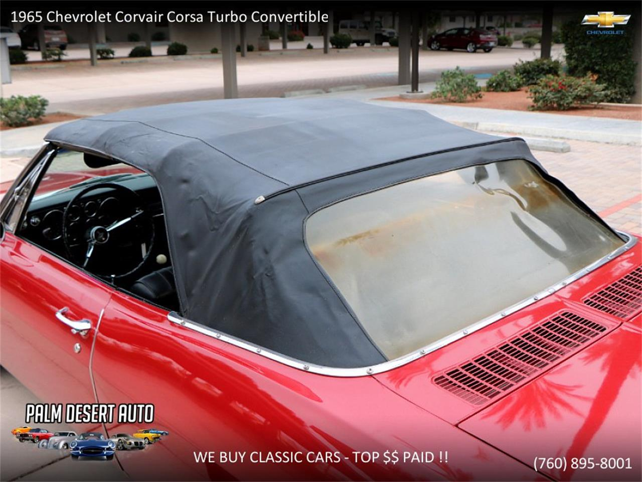 Large Picture of 1965 Corvair - $17,750.00 Offered by Palm Desert Auto - PFFC