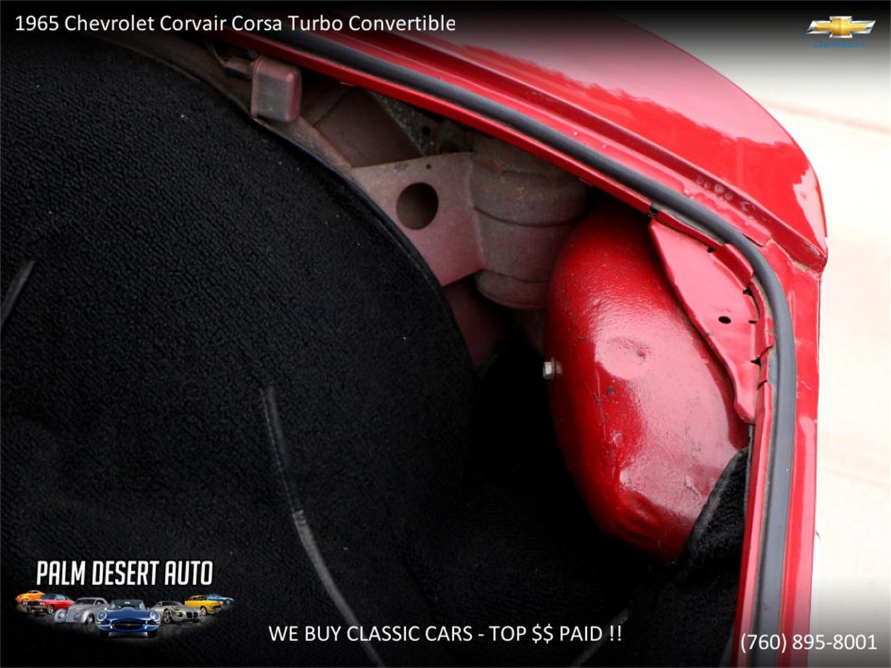 Large Picture of Classic 1965 Chevrolet Corvair located in Palm Desert  California - $17,750.00 Offered by Palm Desert Auto - PFFC
