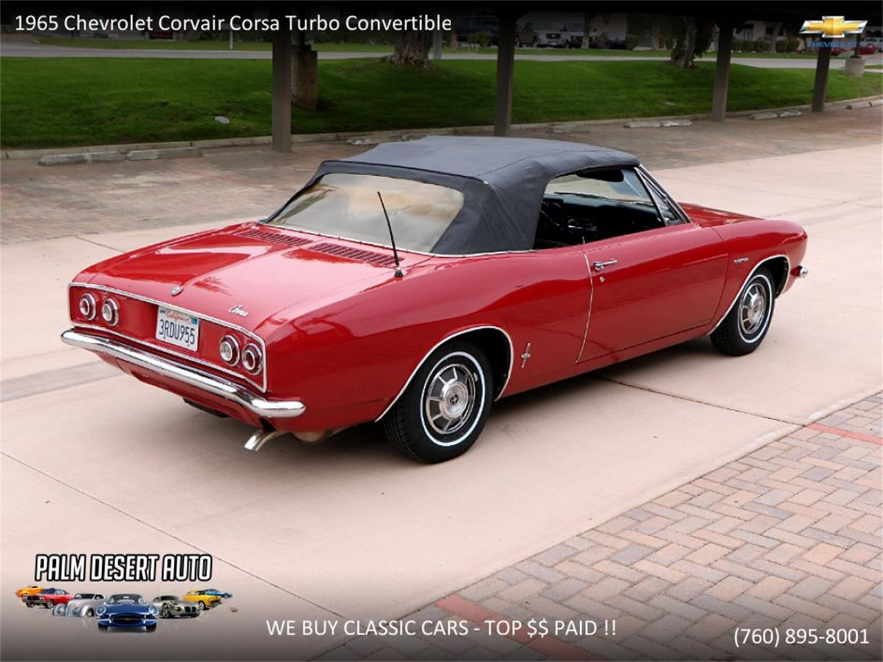 Large Picture of '65 Chevrolet Corvair located in California - $17,750.00 - PFFC