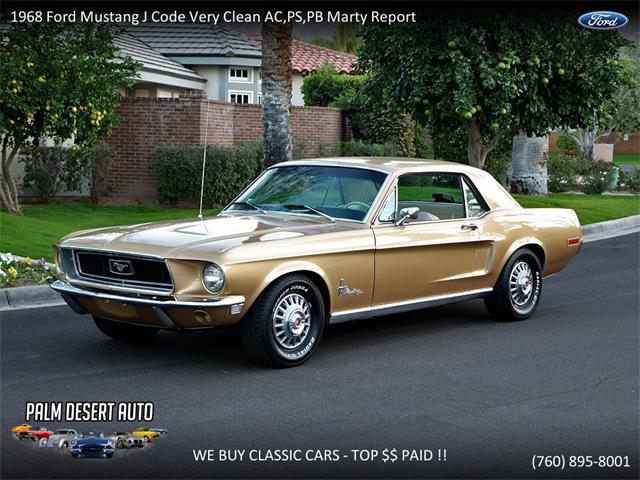 Picture of Classic 1968 Ford Mustang located in California - PFFM