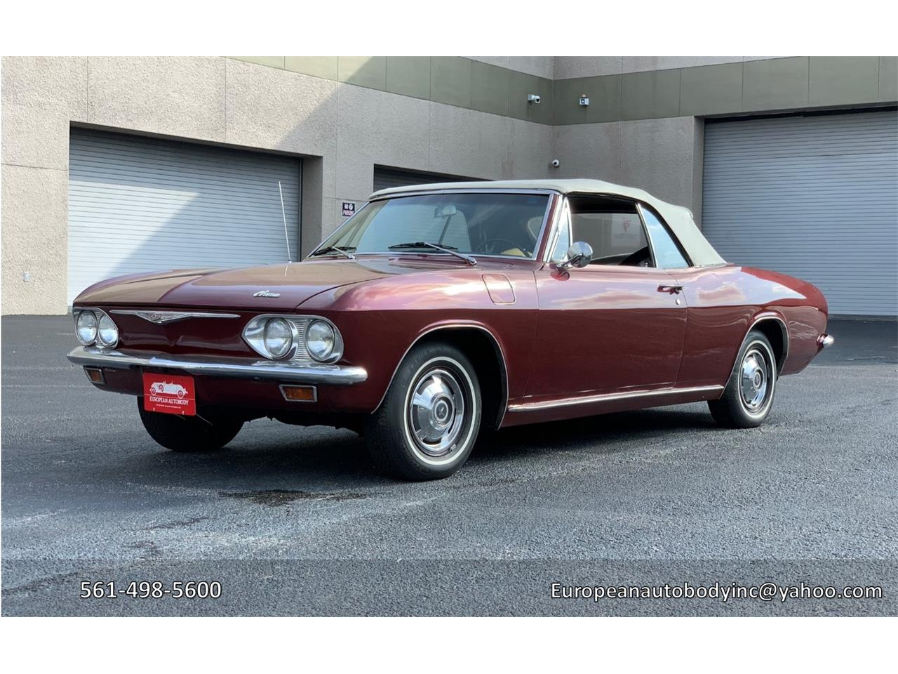 Large Picture of Classic 1965 Chevrolet Corvair located in Boca Raton Florida - $16,900.00 Offered by European Autobody, Inc. - PFHX