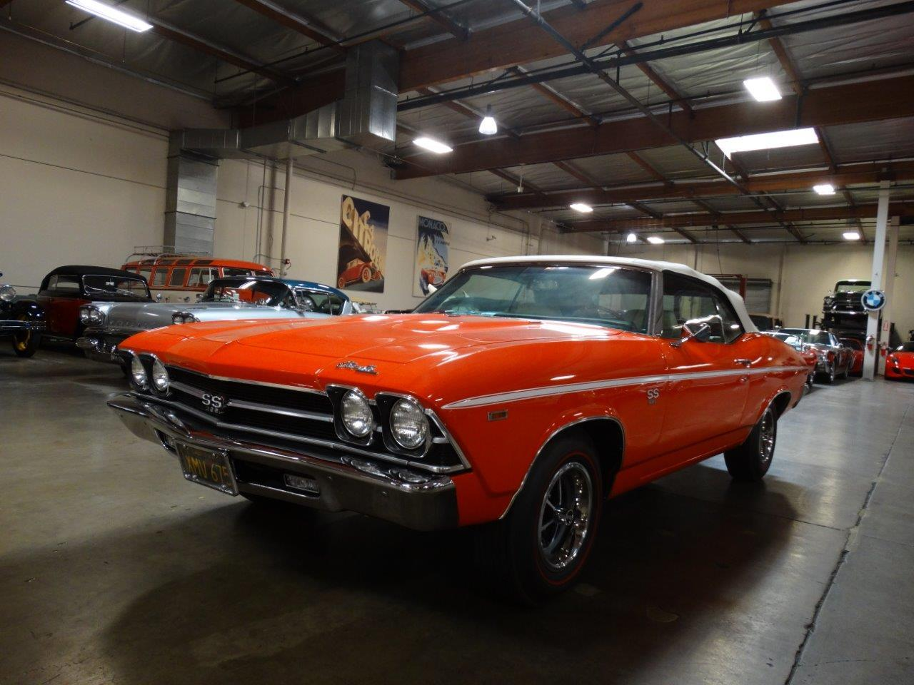 Large Picture of Classic '69 Chevrolet Chevelle SS located in California Offered by Crevier Classic Cars - PFIX