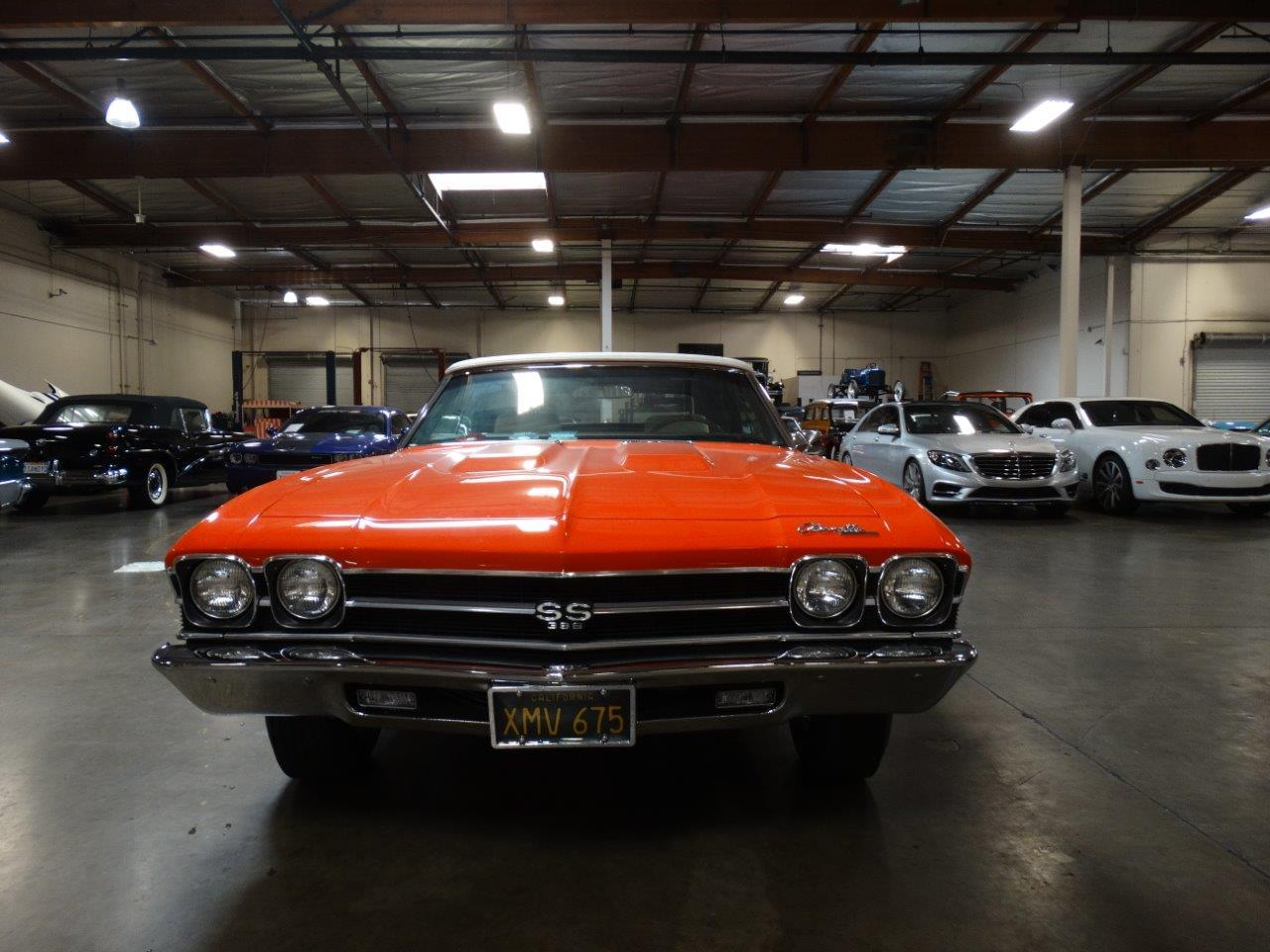 Large Picture of '69 Chevelle SS located in California Offered by Crevier Classic Cars - PFIX