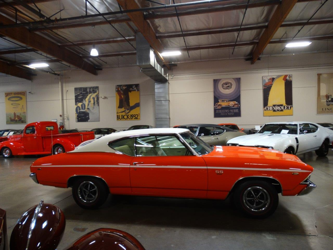Large Picture of '69 Chevrolet Chevelle SS located in California Offered by Crevier Classic Cars - PFIY