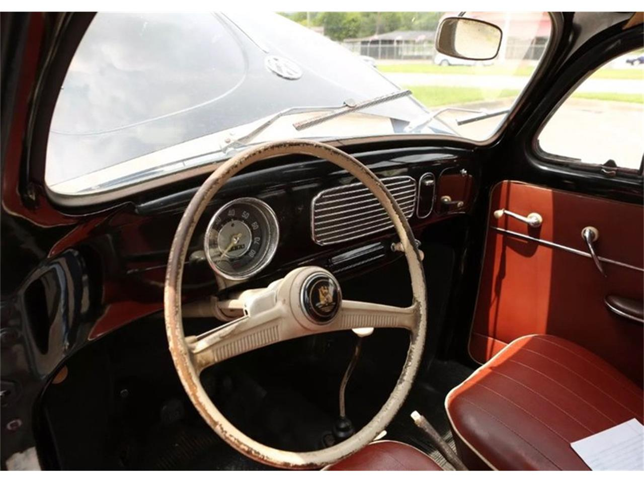 Large Picture of Classic 1957 Volkswagen Beetle located in Oklahoma City Oklahoma Offered by Leake Auction Company - PFMY