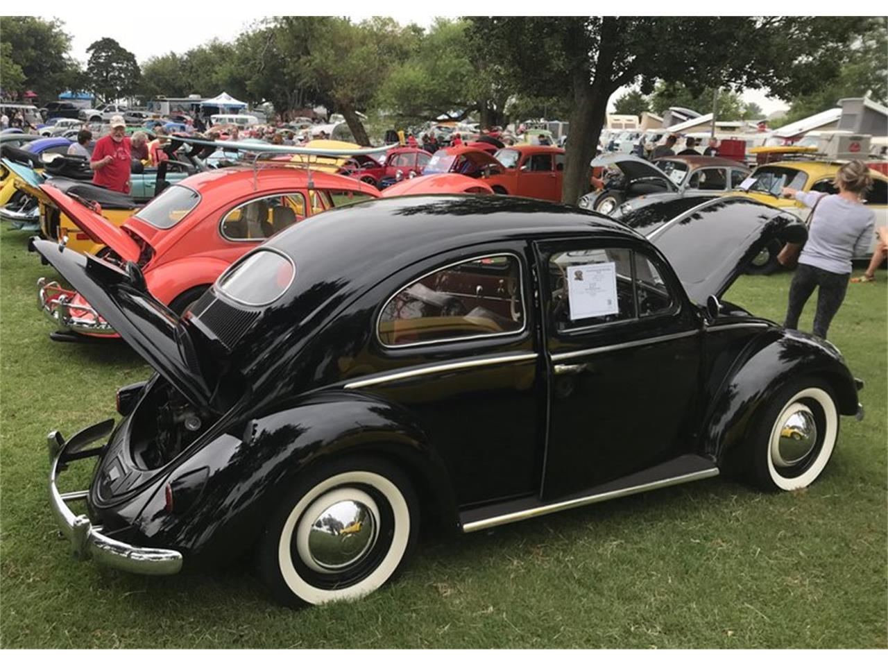 Large Picture of Classic 1957 Volkswagen Beetle located in Oklahoma City Oklahoma Auction Vehicle Offered by Leake Auction Company - PFMY