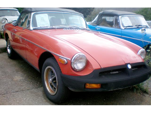 Picture of '77 MGB - PFRU