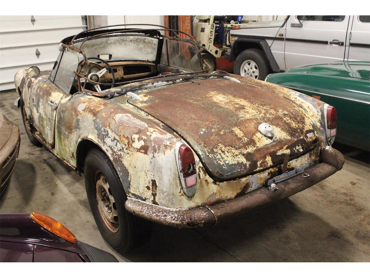 Large Picture of Classic '63 Giulietta Spider - $14,950.00 - PFS7