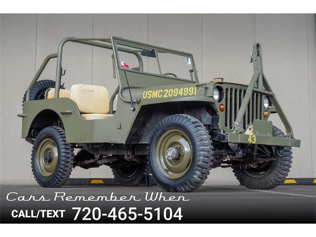 Picture of Classic 1943 Willys Jeep located in Englewood Colorado - $17,499.00 - PB0Y