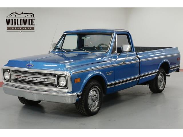 1970 Chevrolet C10 For Sale On Classiccars Com
