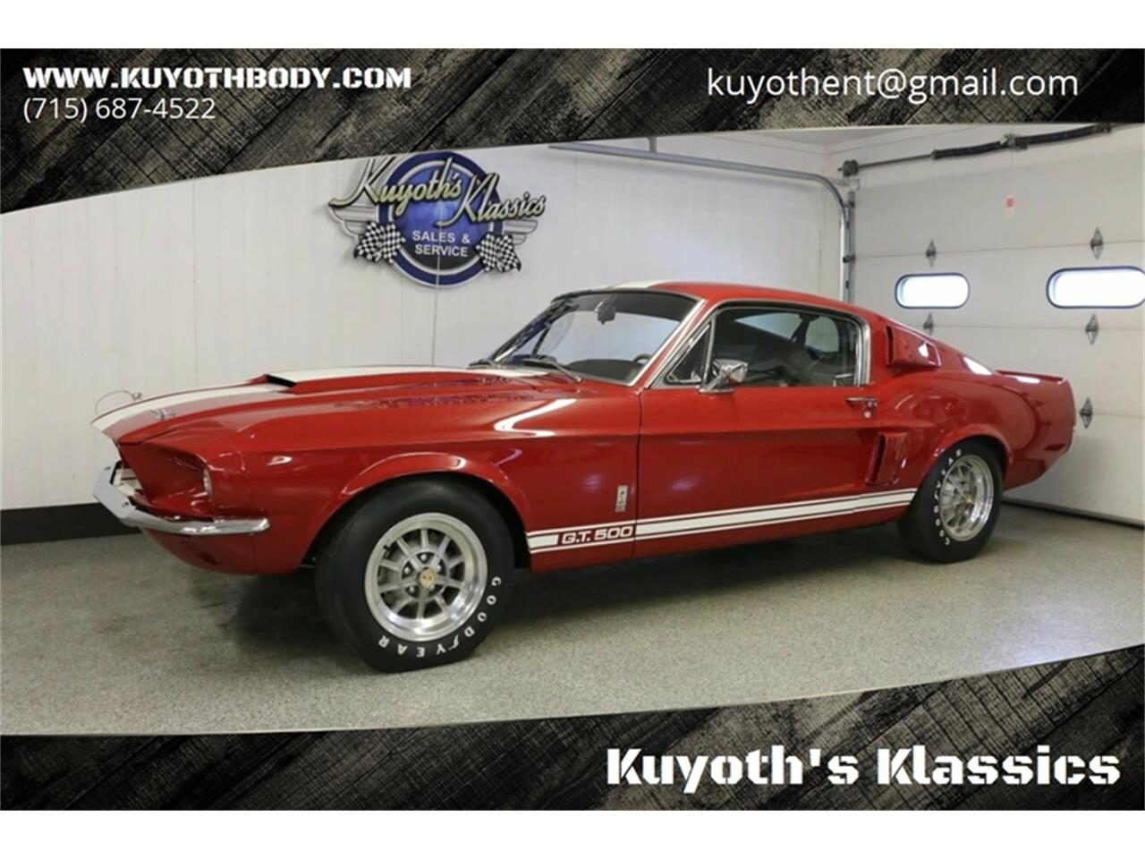 For Sale: 1967 Shelby GT500 in Stratford, Wisconsin