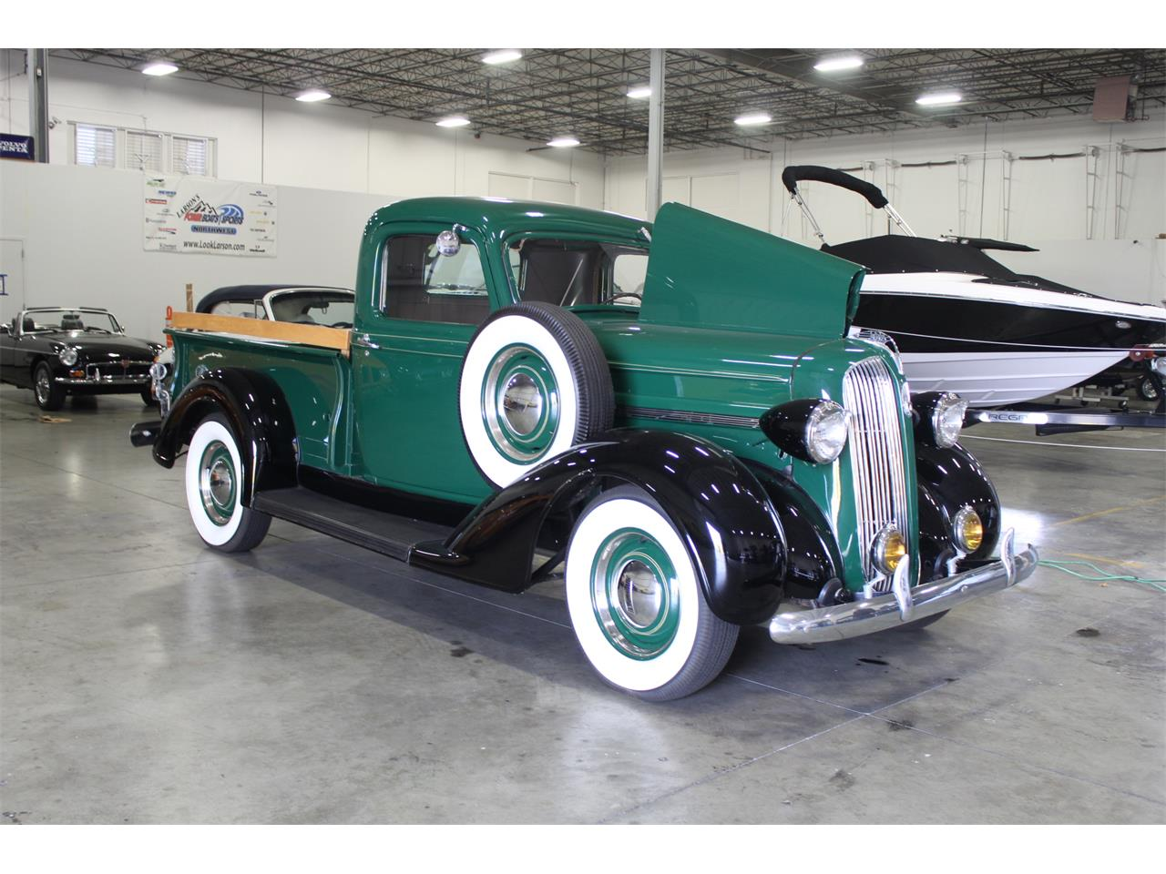 Large Picture of '37 Plymouth Pickup - PGED