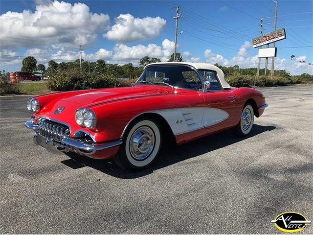 1958 Chevrolet Corvette For Sale On Classiccars