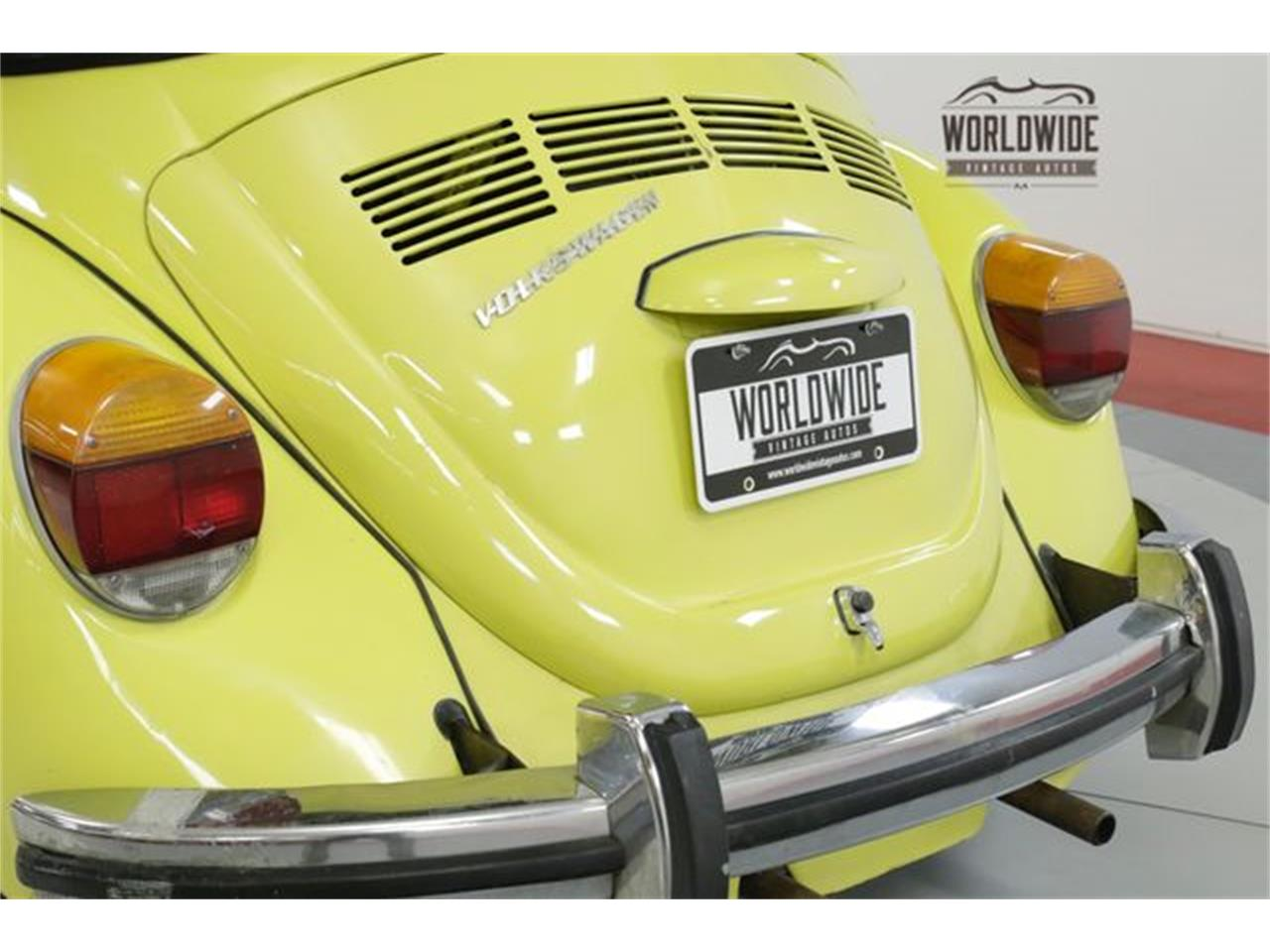 Large Picture of Classic '73 Beetle located in Denver  Colorado Offered by Worldwide Vintage Autos - PGMT