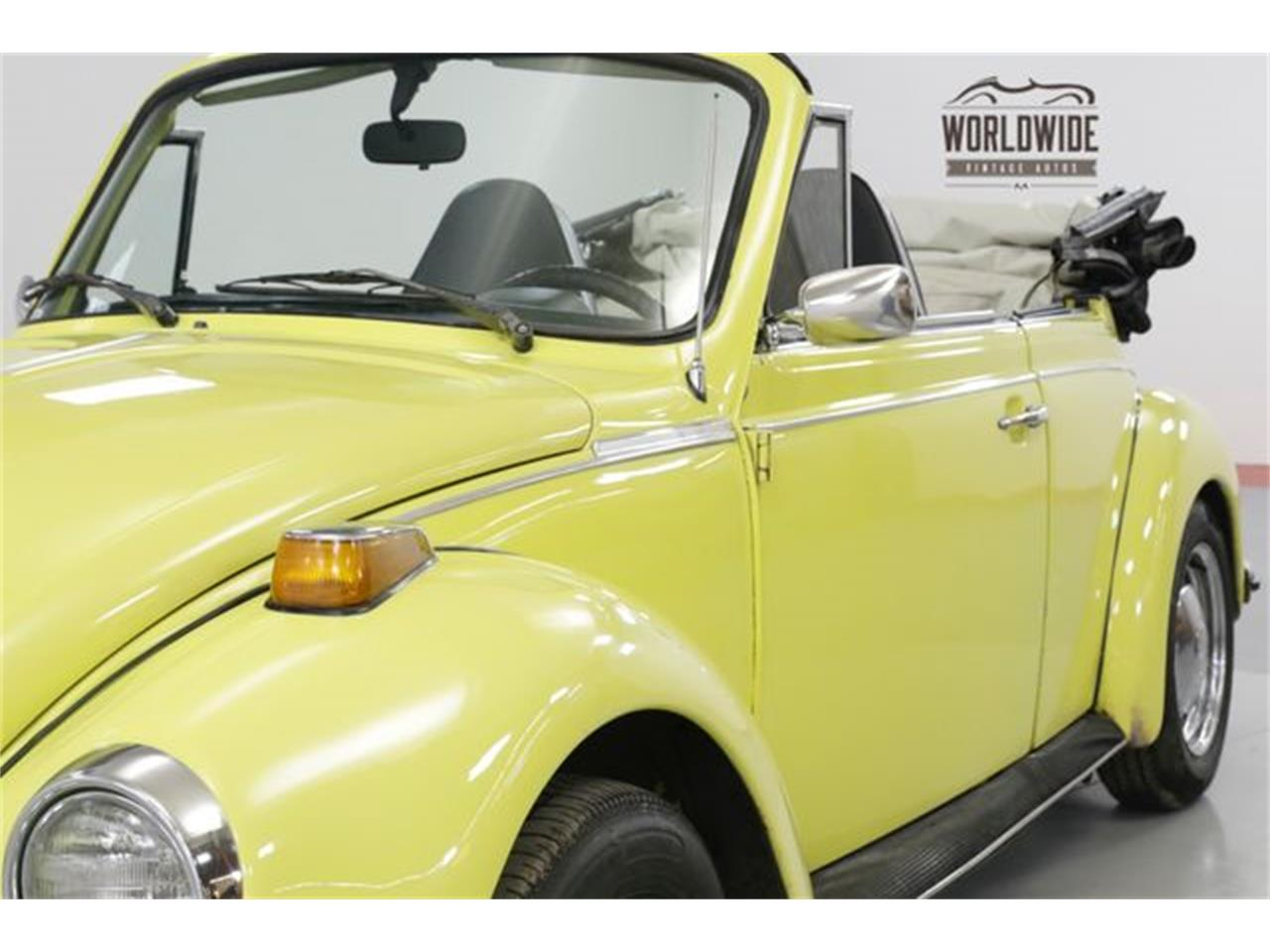 Large Picture of Classic 1973 Beetle located in Colorado Offered by Worldwide Vintage Autos - PGMT