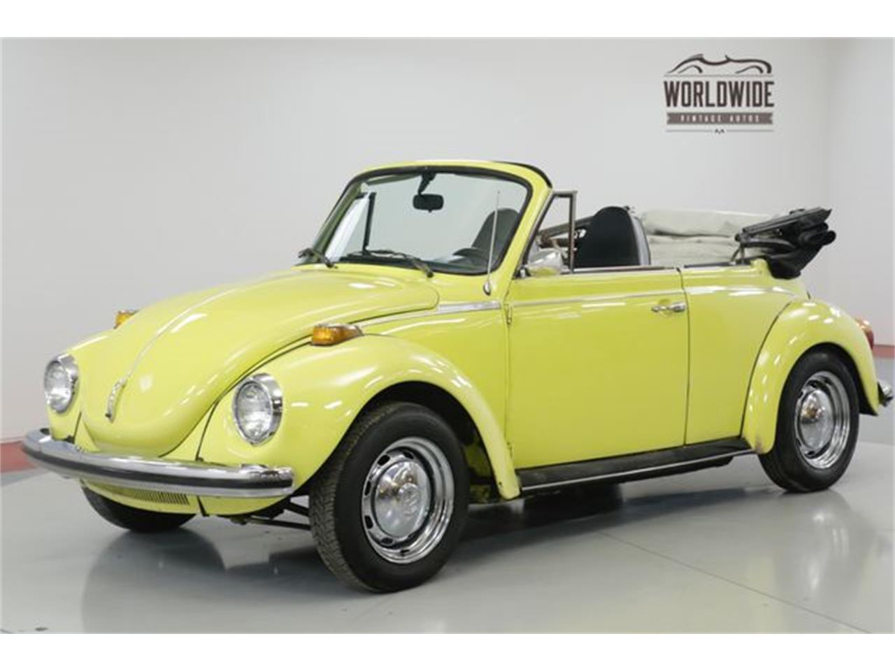 Large Picture of Classic 1973 Volkswagen Beetle located in Denver  Colorado Offered by Worldwide Vintage Autos - PGMT