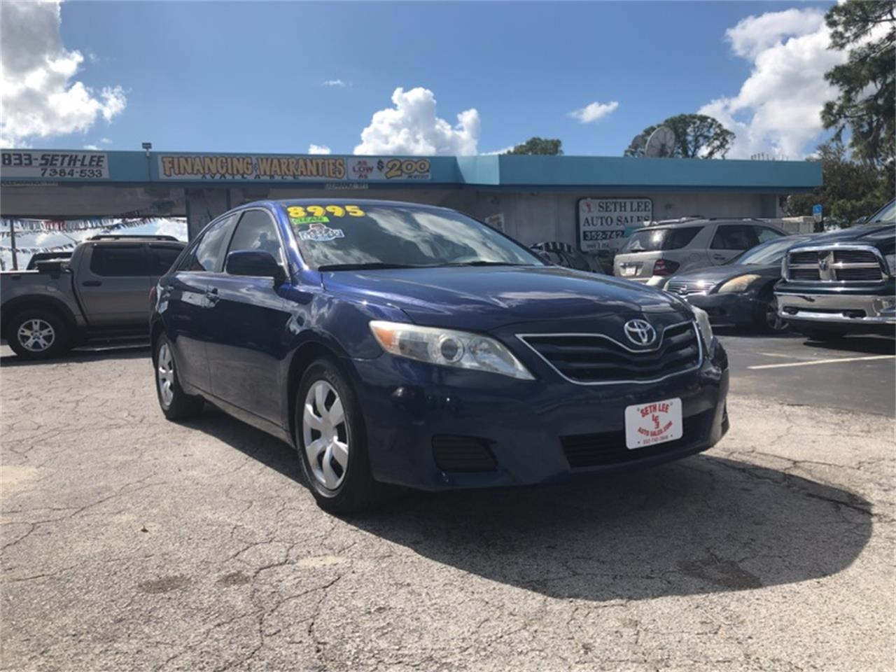 2010 Toyota Camry For Sale >> For Sale 2010 Toyota Camry In Tavares Florida