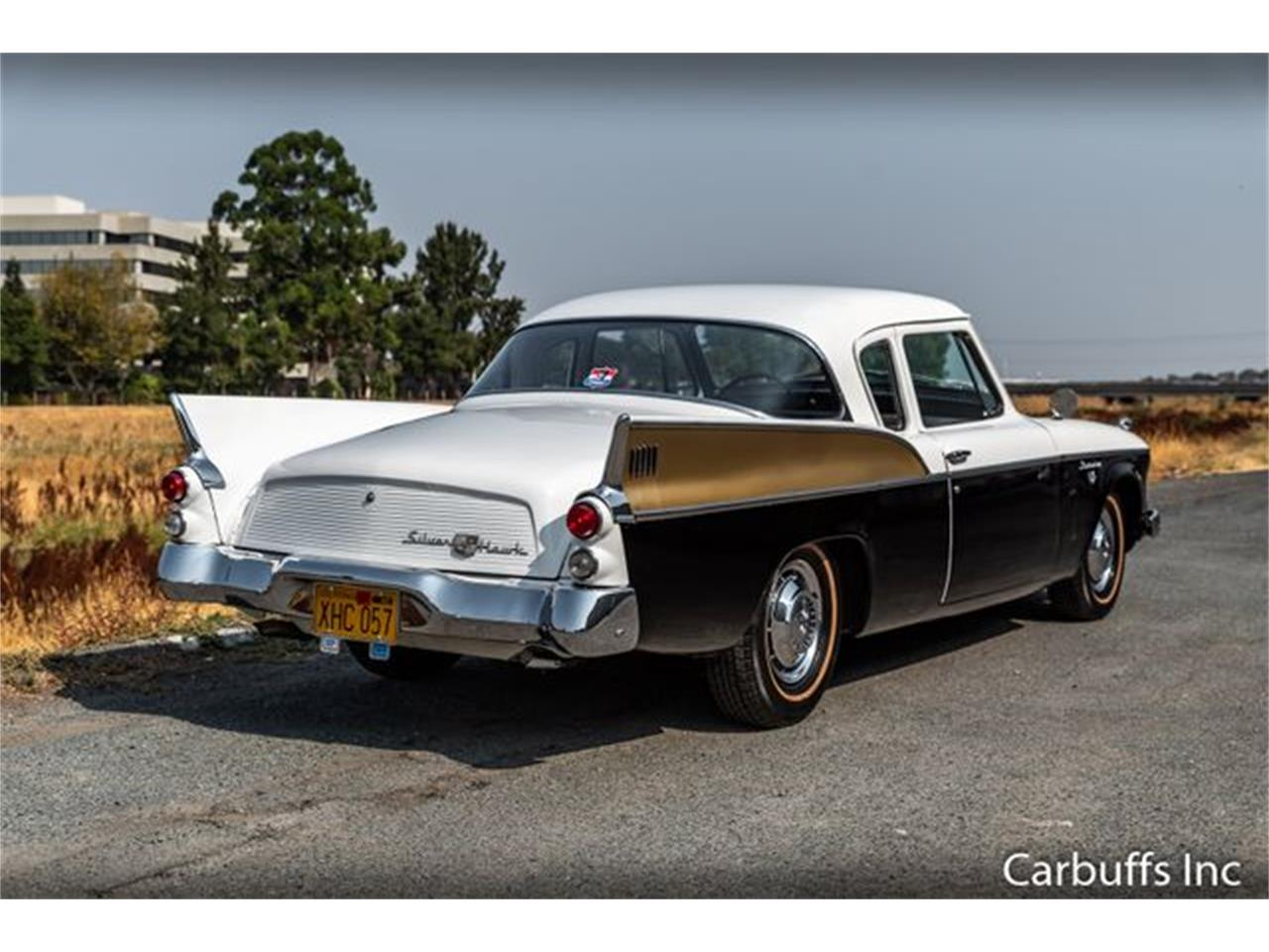 Large Picture of Classic 1957 Silver Hawk Offered by Carbuffs - PGPN